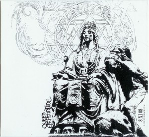 CD Artwork - Queen Elephantine - 8 XI 08 live in Brooklyn