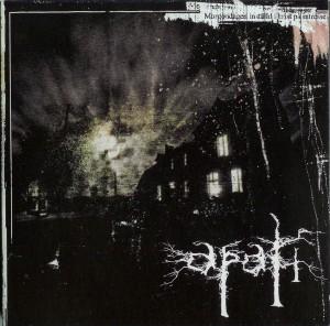 CD Artwork - Apati - Morgondagen inställd i brist på intresse